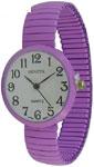 Geneva Mini Stretch Band Fashion Watch 30 mm - Lavender