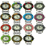 LOT of 5 Turtle Shell Oval Solid Bar Watch Faces