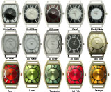 LOT of 5 Double Dial Solid Bar Ribbon Watch Faces